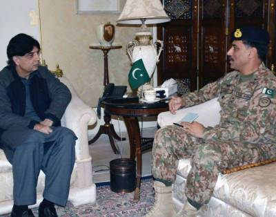 CPEC Security: Special Security Division head Maj General Abid Rafique holds meeting with Interior Minister