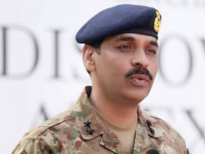 DG ISPR Major General Asif Ghafoor warns India