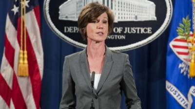 Donald Trump fires federal government top lawyer Sally Yates over disobedience