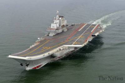 The Shandong: China's first indigenously built Aircraft carrier takes shape