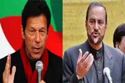 Imran Khan - Babar Awan discuss Panama Papers strategy