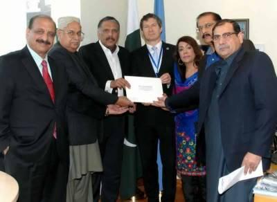 NA Committee presents memorandum on Kashmir to UN Resident Coordinator