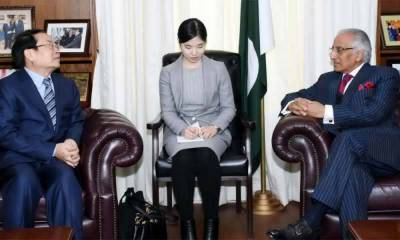 Chinese State Commissioner for Counter Terrorism holds important talks in Islamabad