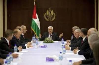 Palestinian Cabinet urges sanctions over Israel's settlement law
