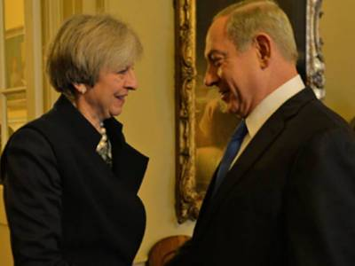 Theresa May expresses concerns over Israeli settlements in the West Bank