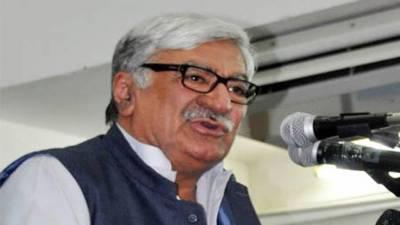 ANP President Asfandyar Wali Khan threats federal government