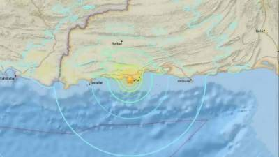 High intensity earthquake shakes south western region of Pakistan