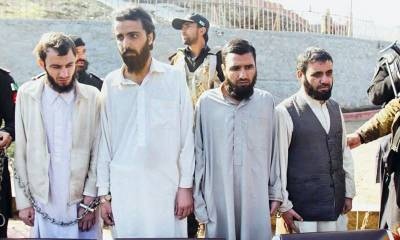 Pakistan hands over wanted ISIS militants to Afghanistan
