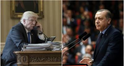 Tayyip Erdogan- Donald Trump hold telephonic conversation