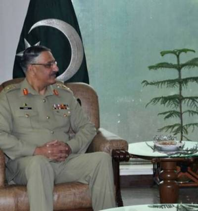 French Ambassador calls on CJCSC General Zubair Mehmood Hayat