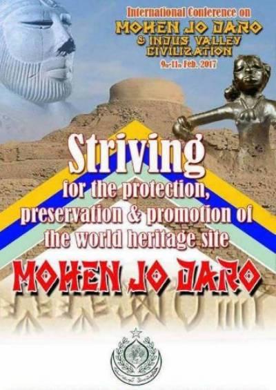 Indus Valley Civilization international conference kicks off in Mohenjo Daro