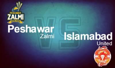 PSL 2 first match: Islamabad United Vs Peshawar Zalmi live update
