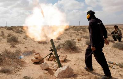 Four mortar shells fired from Iran into Balochistan