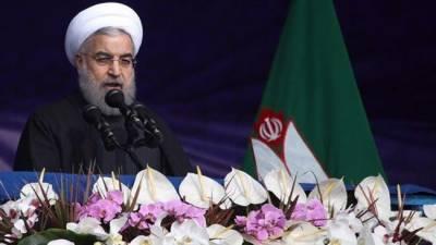 Iranian President Hasan Rouhani retaliates to US threats