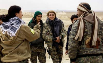 Syrian women takes on arms to fight deadly ISIS
