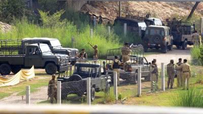 17 terrorists including 4 key commanders killed