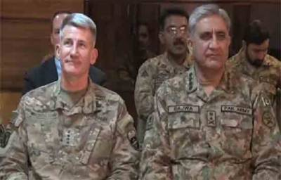 COAS phones US Commander in Afghanistan; Asks not to test cross border restraint