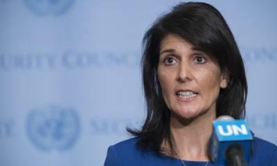 US Ambassador to UN takes a big U-Turn