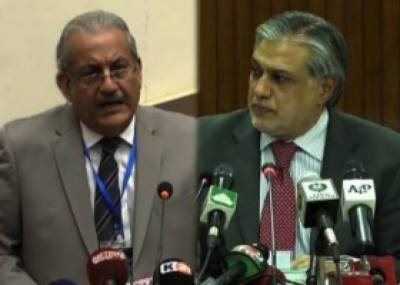 Dar, Rabbani discuss prevailing political solution