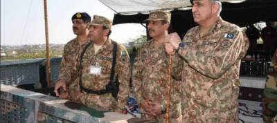 COAS orders troops to give befitting reply to Indian firing at LoC