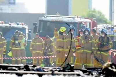 Plane Crash into a Shopping Mall in Australia
