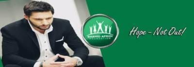 Shahid Afridi Foundation holds first fund raiser in Dubai