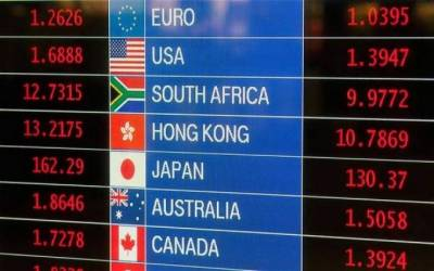 Foreign Currency exchange rates of NBP on February 22