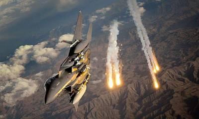 PAF air strikes destroy terrorists hideouts on Af-Pak border