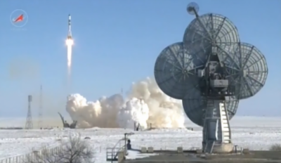 Russian Space craft blasts off for International Space Station