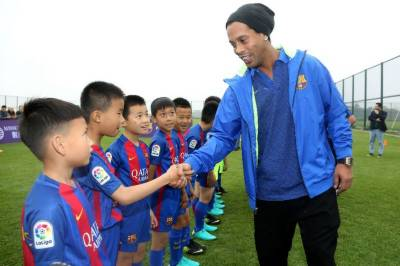 Barcelona launches Football academy in China