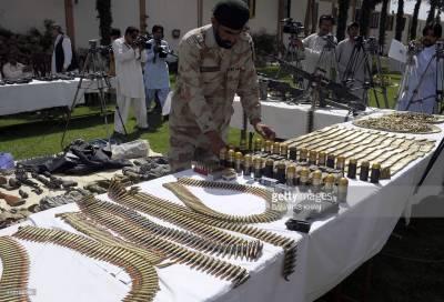 Frontier Corps seizes arms, ammunition