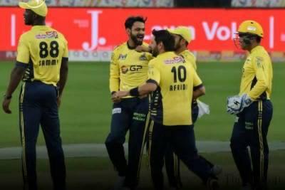 Peshawar Zalmi Vs Lahore Qalandars match scorecard