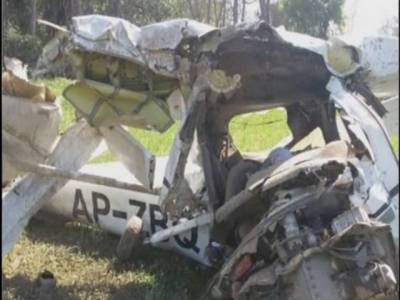 Shaheen Air training plane crashes