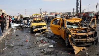 Suicide attacks kill 70 in Syria
