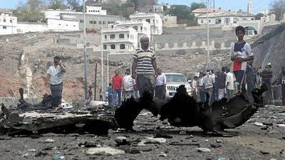 Yemen: 8 killed in suicide bomb blast