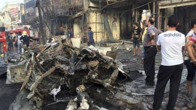 Syria Military Intellignece headquartets struck with twin suicide bombings