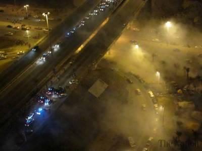 Bomb Blast hits Bahraini Police bus