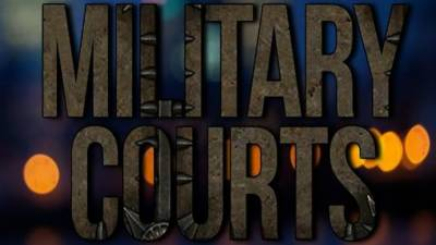 Military Courts: Federal Government takes the final decision