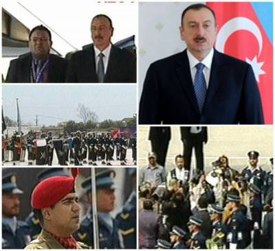 Azerbaijan President given unprecedented welcome at Islamabad Airport