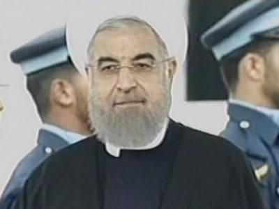 ECO summit: Iranian President Rouhani given unprecedented welcome at Islamabad Airport