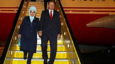 ECO Summit: Turkish President Tayyip Erdogan given 21 gun salutes at Islamabad Airport