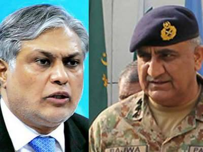 Finance Minister-COAS hold important meeting