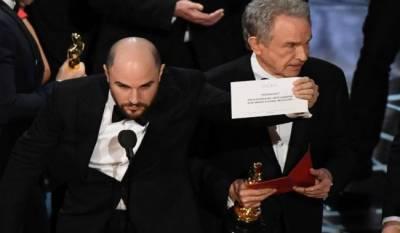 Oscar Awards historic mixup brings chaotic close