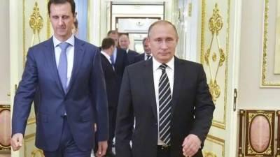 Russia-Syria: Putin becomes Syria's iron shied