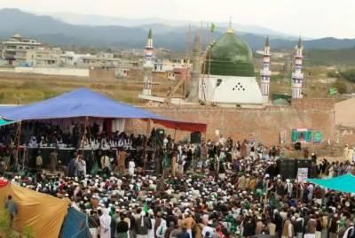 Mumtaz Qadri anniversary held despite government strict ban