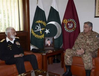 Army Chief, Naval Chief discuss operation Radd-ul-Fasaad