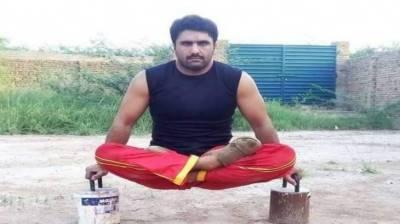 Pakistan's Ifran Mehsud breaks five international records in 40 days
