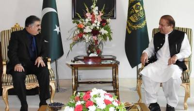 CM Baluchistan meets PM Nawaz, discusses developmental projects