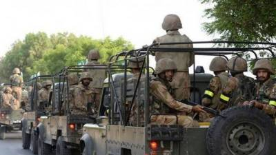 Huge cache of arms recovered under Operation Raad-ul-Fasaad