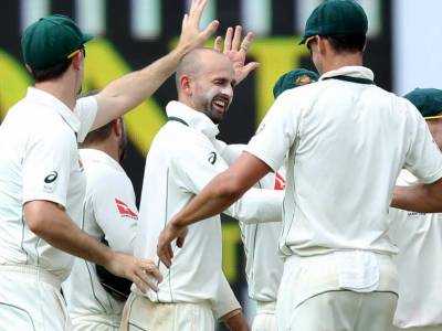 India v Australia second Test Match scoreboard